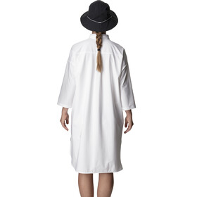 Houdini Route Shirt Dress Dame powderday white